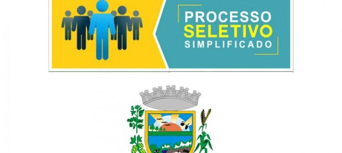 Inscrições abertas para processo Seletivo Simplificado